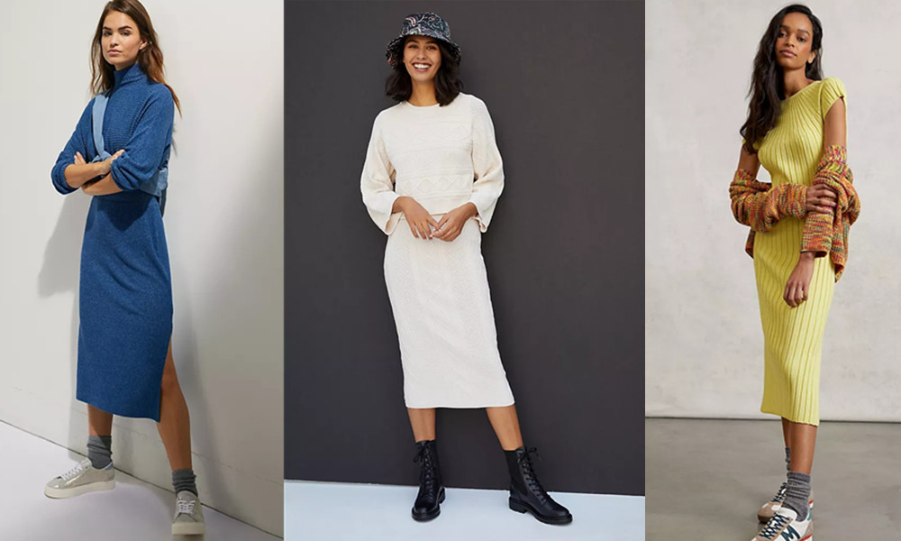 The 10 Best Sweater Dresses Of This Season
